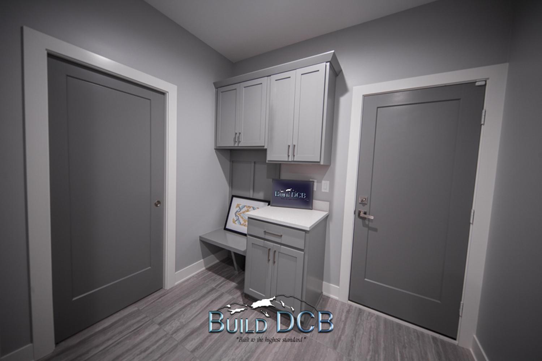 model home custom entry