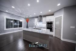 contemporary custom kitchen island