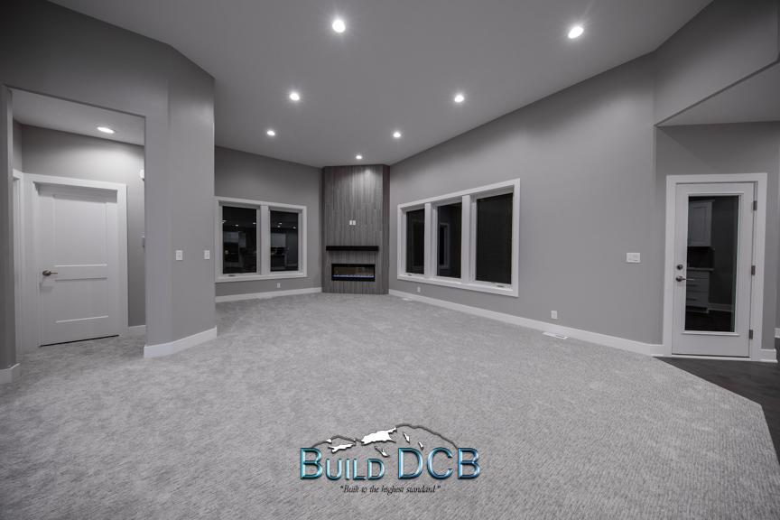custom living room layout