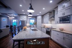kitchen island modern appliances