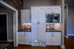 cabinet lighting white wood
