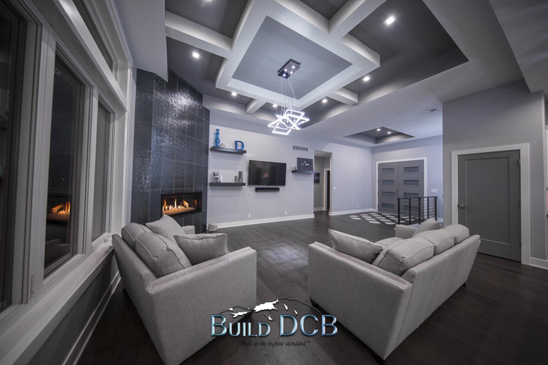 large open modern living room