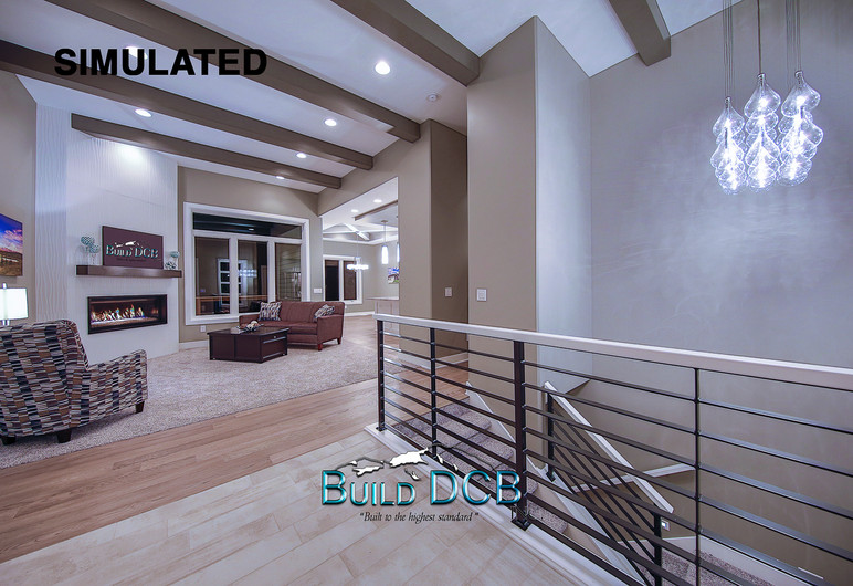 Large open entry way