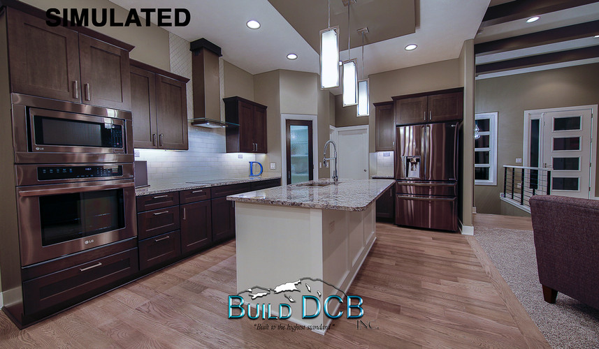stainless appliances large kitchen area