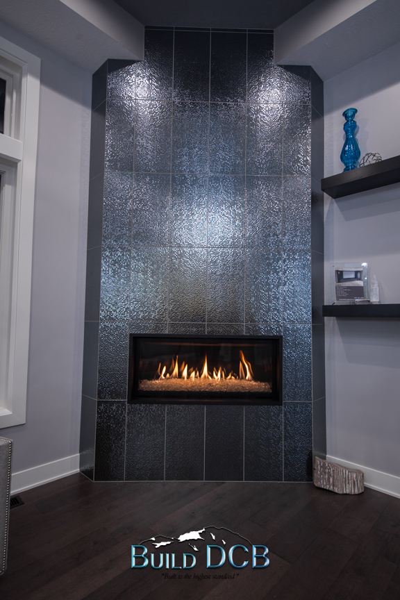 contemporary electric fireplace