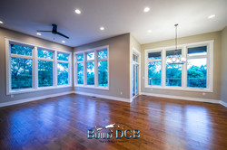scenic view from large living room