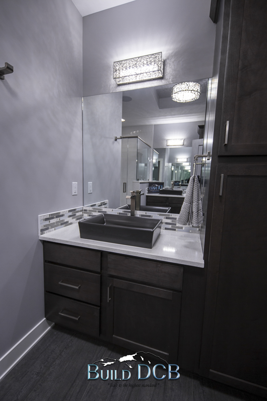 Custom Bathroom Granite Counter tops