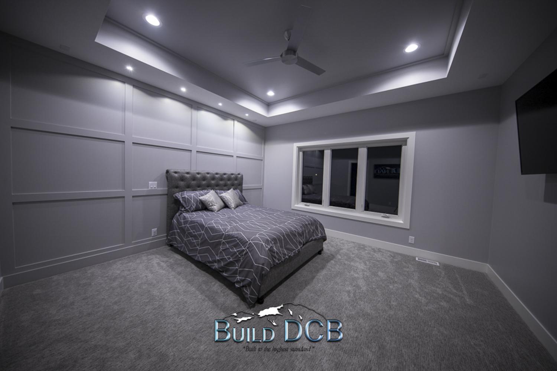 model home bedroom design