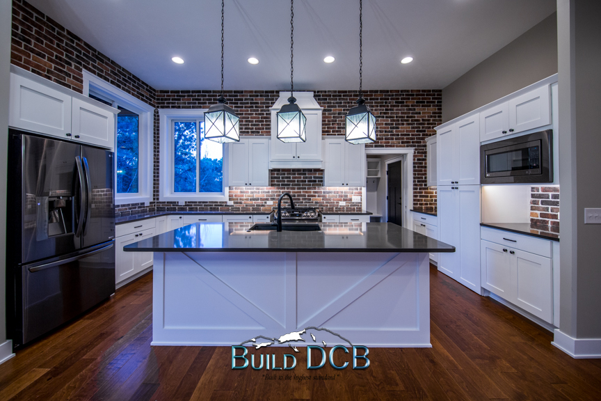 center kitchen island modern