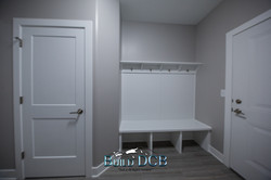 modern closet and storage