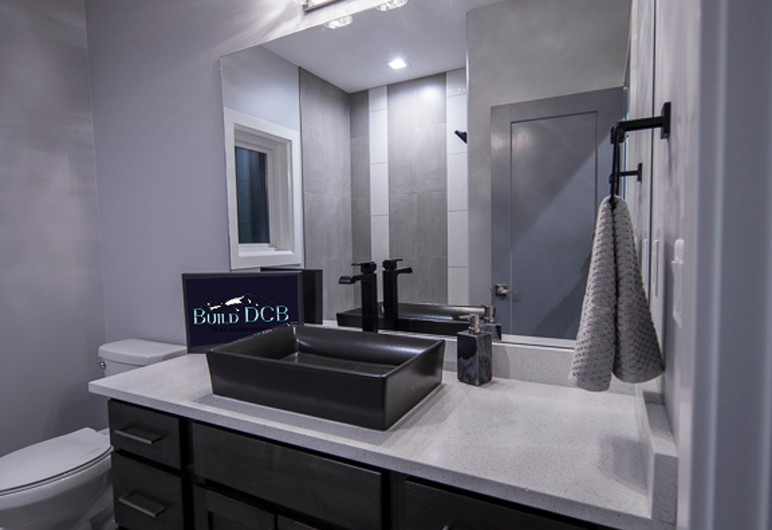 large second bathroom modern ammenities