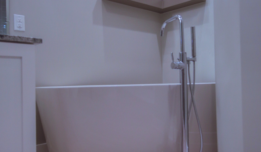 stand up custom bathroom bathtub