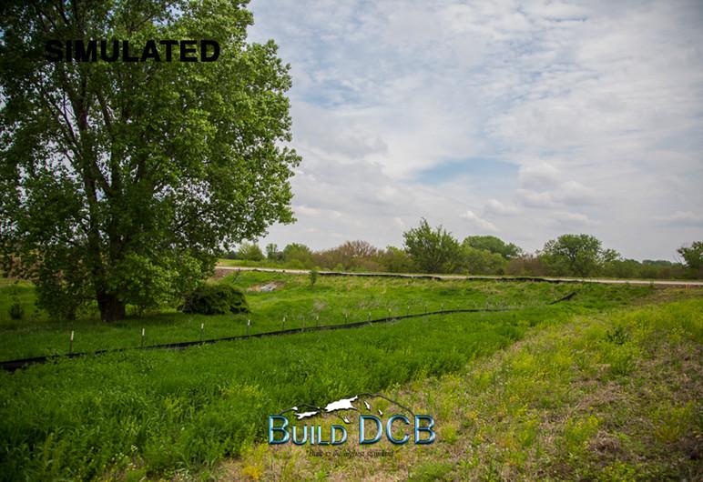 nebraska plains backyard view