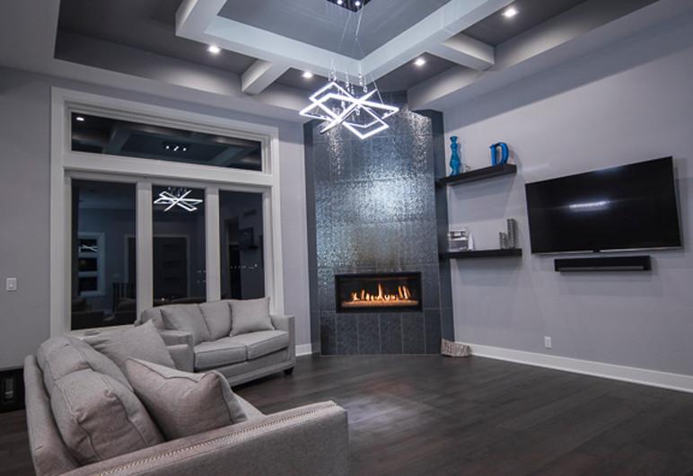 tall custom cealing can lighting