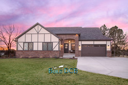 South Lincoln custom home view