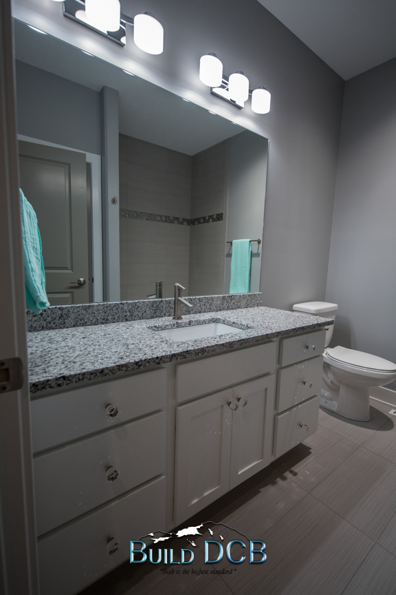 large bathroom counter top