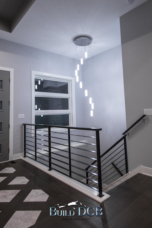 Model home entry lighting