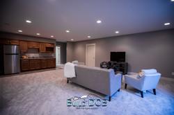 basement den seating