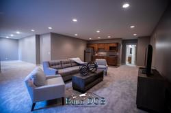basement den can light fixtures