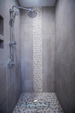 granite shower custom design