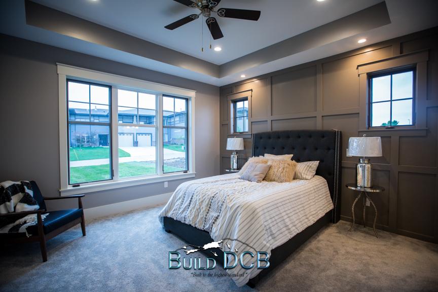spacious open master bedroom