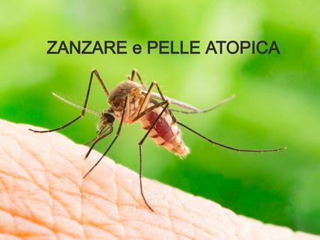 Alle zanzare piace la pelle atopica...