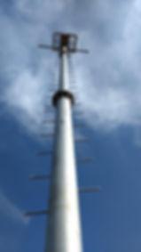 poste conico, postes conicos