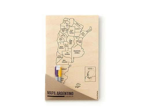 Mapa ARGENTINO para colorear