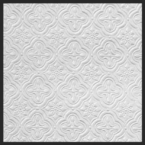 White Opal Tile Embossed