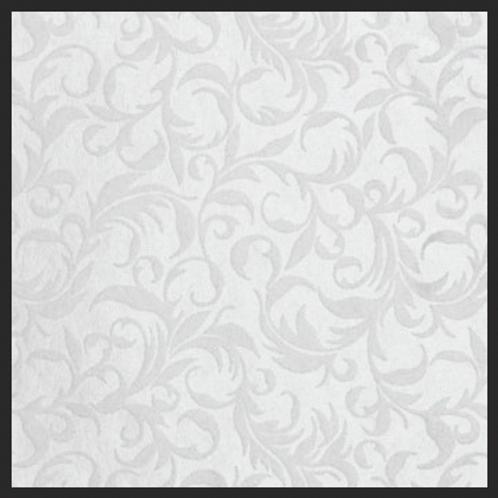 Flourish White on White