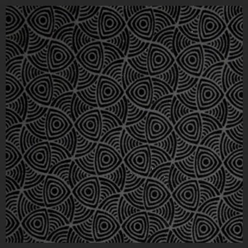 Abstract Swirl Black