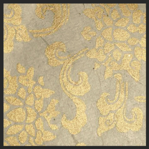 Gold Tibetan Lotus
