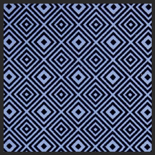 Abstract Squares Blue
