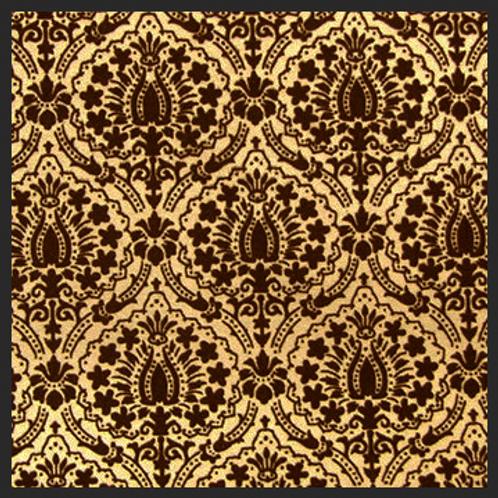 Lotus Gold Damask