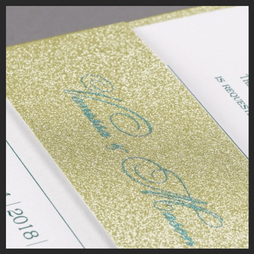 Be Dazzled - Gold Glitter