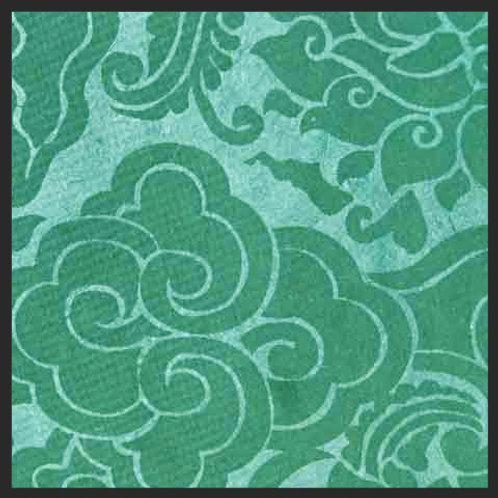 Olive Green Pema Tingba Print