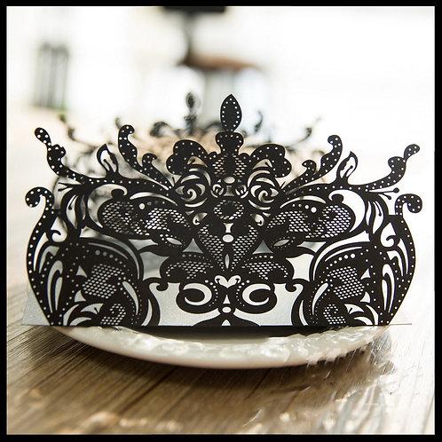 Black Lace Gatefold