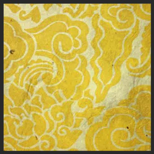 Yellow Pema Tingba Print