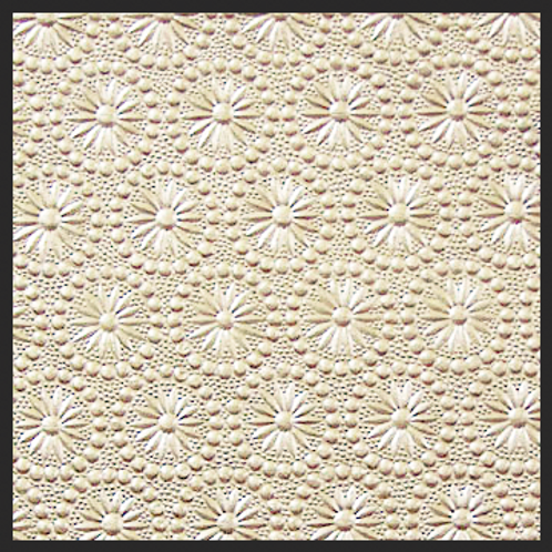 Taupe Pearl Pinwheel