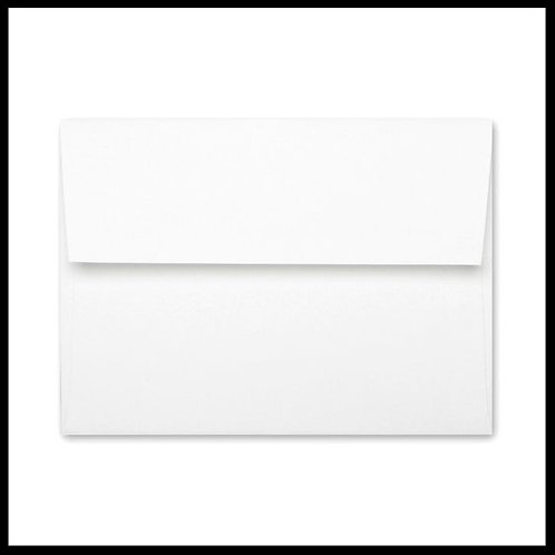 Basis White Envelope
