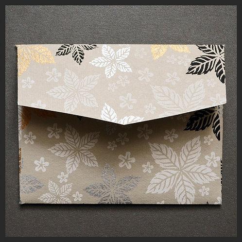 Gold Leaf Floral Envelopes (8 per pkg)