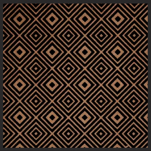 Abstract Squares Brown