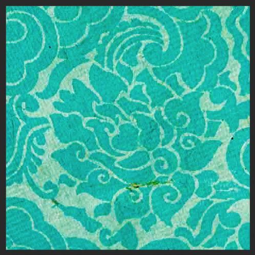 Turquoise Pema Tingba Print