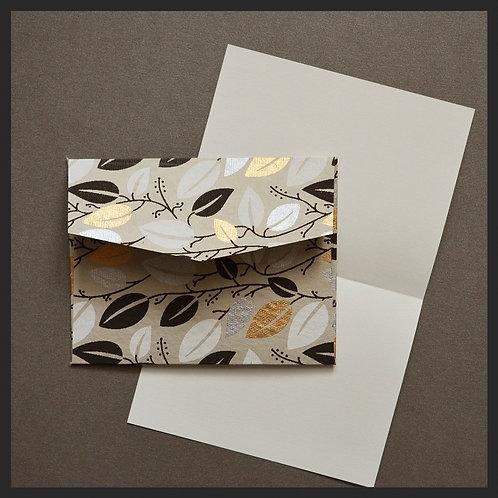 Gold Leaf Vine Envelope Love Notes (8 per pkg)