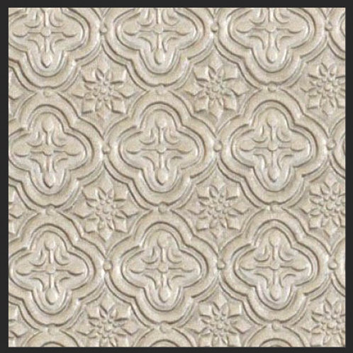 Taupe Tile Embossed