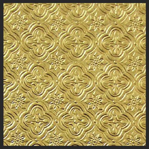 Gold Tile Embossed