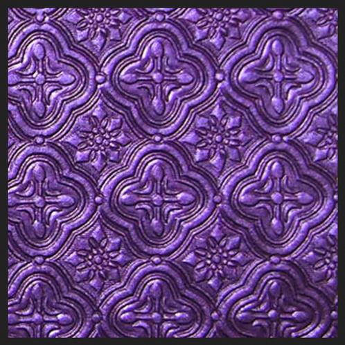 Dark Purple Tile Embossed