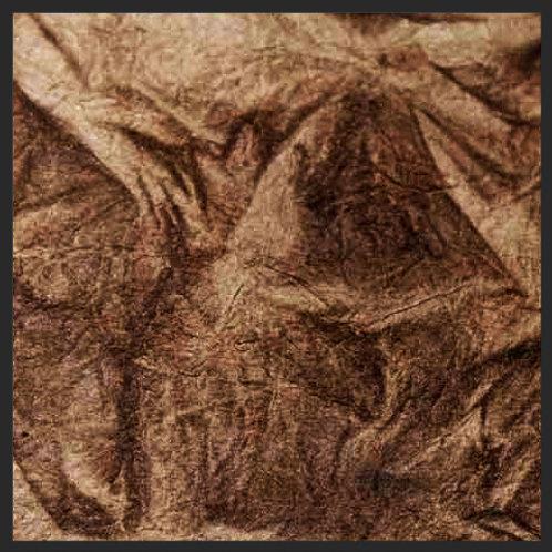 Mocha Brown Leather Wrinkle
