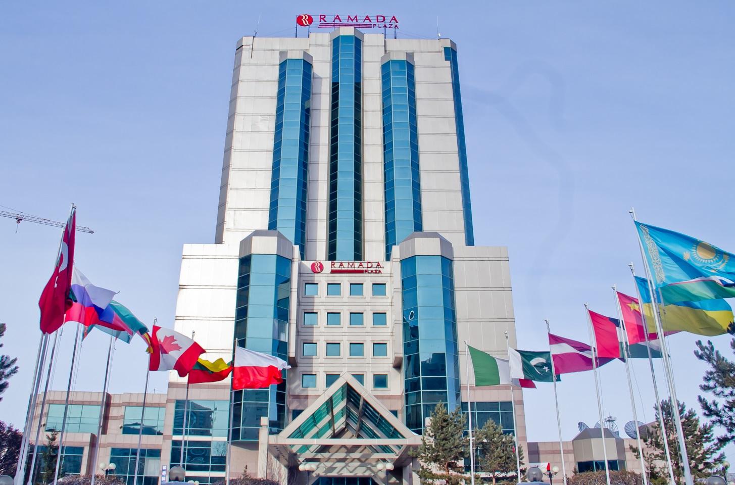 Гостиница  Рамада Плаза, в г. Астана