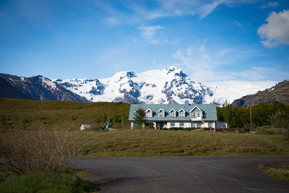 Icelandic Cabin in the mountains